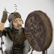 Куклы и игрушки ручной работы. Ярмарка Мастеров - ручная работа Шаман 3. Авторская кукла Елены Ким. Handmade.