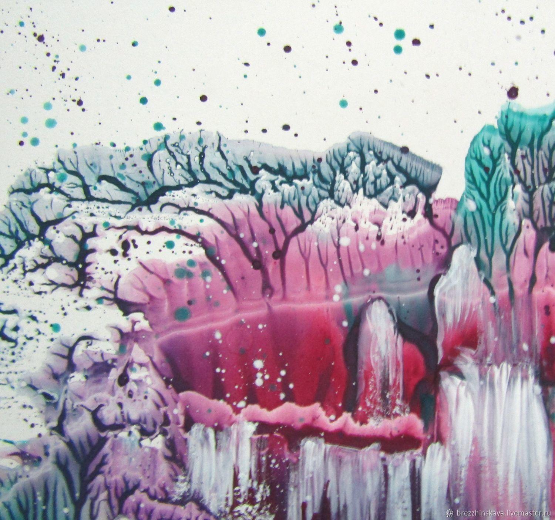 Заснеженный водопад, Картины, Тула, Фото №1