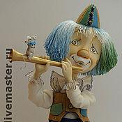 """Куклы и игрушки ручной работы. Ярмарка Мастеров - ручная работа кукла """"Клоун"""". Handmade."""