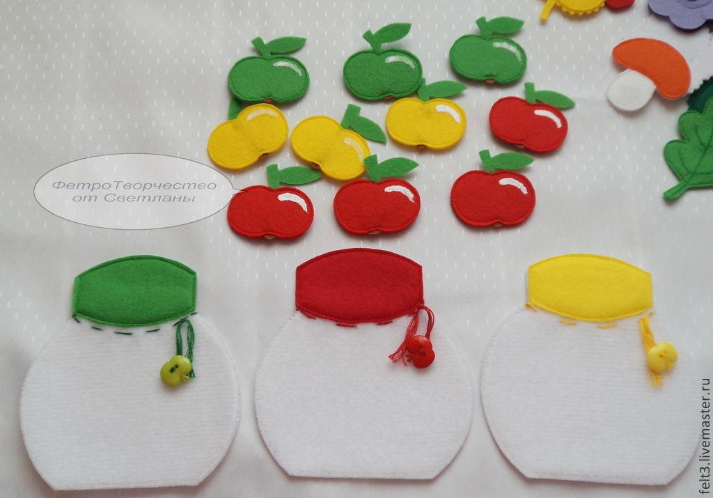 Выкройки развивающие игрушки из фетра