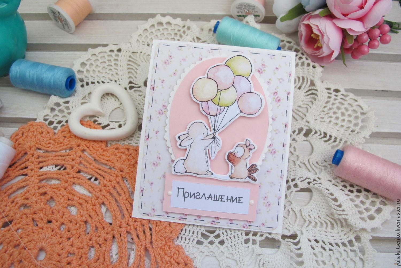 Пригласительные своими руками на день рождения ребенка шаблоны