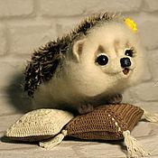 """Куклы и игрушки ручной работы. Ярмарка Мастеров - ручная работа крупная ёжичка """"Ириша"""". Handmade."""