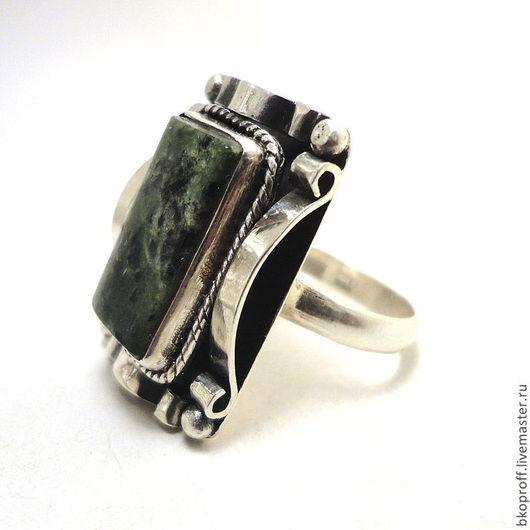 Кольца ручной работы. Ярмарка Мастеров - ручная работа. Купить Большое Серебряное кольцо 925 пробы агат. Handmade.