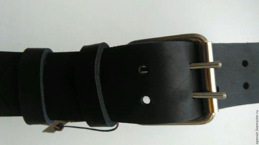 Пояса, ремни ручной работы. Ярмарка Мастеров - ручная работа. Купить мужской кожаный ремень 2. Handmade. Мужской ремень