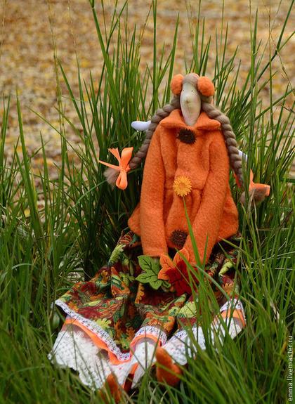 Куклы Тильды ручной работы. Ярмарка Мастеров - ручная работа Осенняя фея. Handmade.