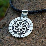 Украшения handmade. Livemaster - original item Molvinets in runic circle (Slavic runes). Handmade.