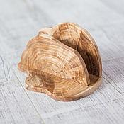 Салфетницы ручной работы. Ярмарка Мастеров - ручная работа Салфетница из стабилизированной березовой сувели. Handmade.