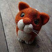 Куклы и игрушки ручной работы. Ярмарка Мастеров - ручная работа Кот Пармезан. Handmade.