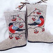 Обувь ручной работы handmade. Livemaster - original item Designer valenki