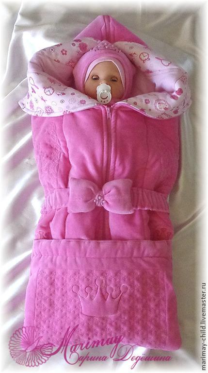 Для новорожденных, ручной работы. Ярмарка Мастеров - ручная работа. Купить Комплект одежды 'Принцесса'. Handmade. Новорожденным, комплект одежды