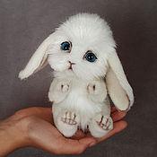 Куклы и игрушки ручной работы. Ярмарка Мастеров - ручная работа Кролик Шарик. Handmade.