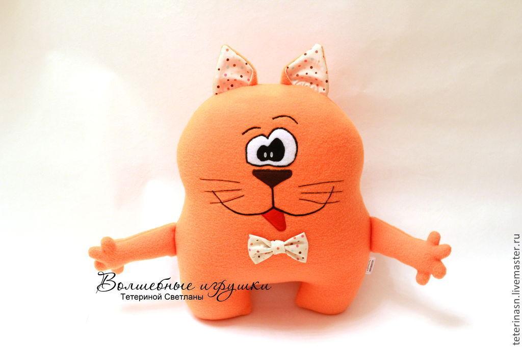 Оригинальные игрушки коты