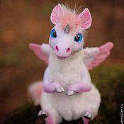 Куклы и игрушки ручной работы. Ярмарка Мастеров - ручная работа Пегас Единорог Волшебное создание Unicorn Pegas. Handmade.
