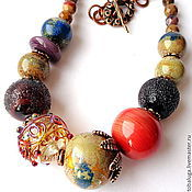 Украшения handmade. Livemaster - original item Necklace Secret charm. Handmade.