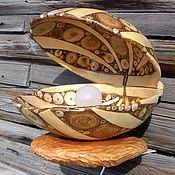 Для дома и интерьера handmade. Livemaster - original item Night light,lamp - Shell. Handmade.