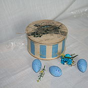 """Подарки к праздникам ручной работы. Ярмарка Мастеров - ручная работа Шкатулка """"Подари себе весну"""". Handmade."""