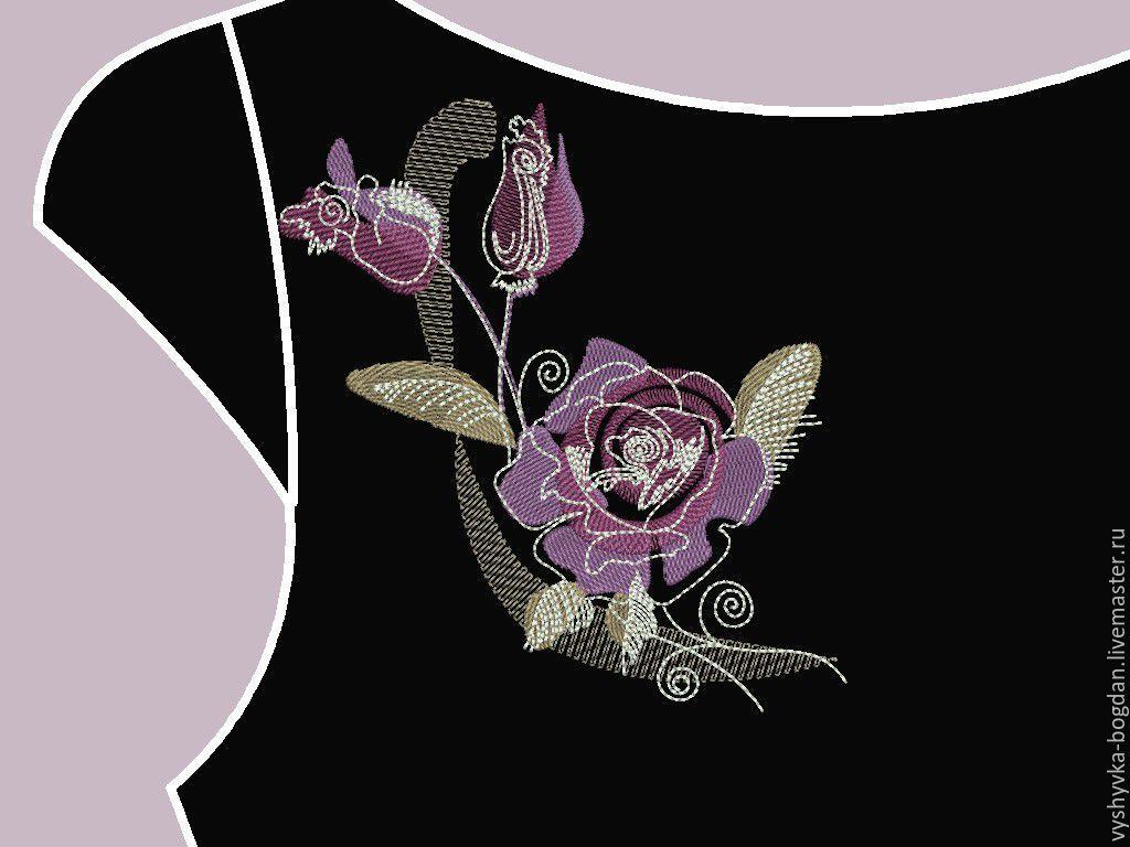 Дизайн вышивки в формате dst бесплатно