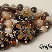 Украшения handmade. Livemaster - original item Bracelet with stones Sunny stone. Handmade.