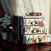 Для дома и интерьера handmade. Livemaster - original item Universal chest of drawers in vintage style. Handmade.