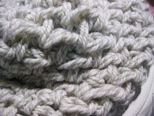 Шали, палантины ручной работы. Ярмарка Мастеров - ручная работа. Купить СНУД  Zoltan  шерсть  крупное вязание техника finger crochet. Handmade.