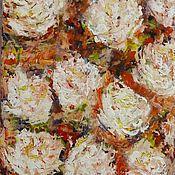Картины и панно ручной работы. Ярмарка Мастеров - ручная работа Осенние розы.  Холст. Масло.. Handmade.