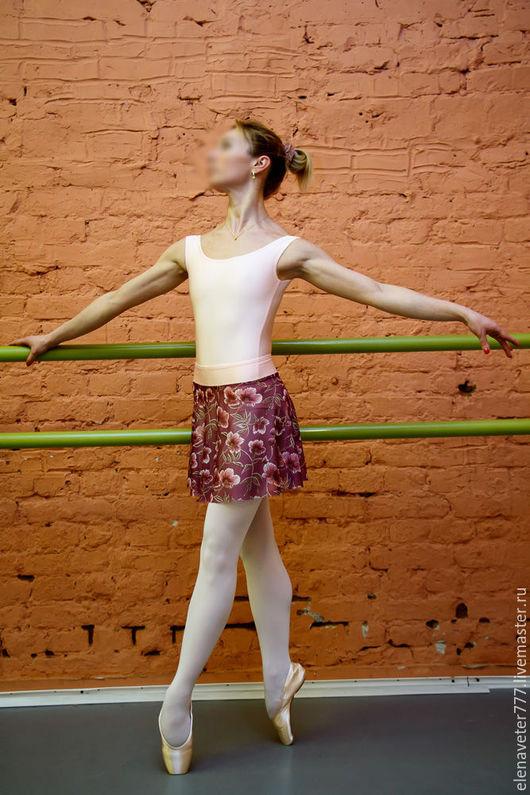 Танцевальные костюмы ручной работы. Ярмарка Мастеров - ручная работа. Купить Купальник для хореографии, танцев, комплект. Handmade. Бледно-розовый