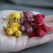 Куклы и игрушки ручной работы. Ярмарка Мастеров - ручная работа Мини мишки. Handmade.