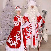 Костюмы ручной работы. Ярмарка Мастеров - ручная работа костюм деда мороза. Handmade.
