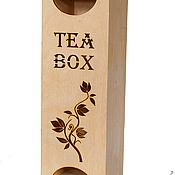 Материалы для творчества handmade. Livemaster - original item PROMOTION! !351010CHD Tea house decoupage blank box for decoupage. Handmade.