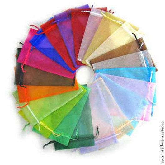 Мешочки из органзы, цвет в ассортименте.