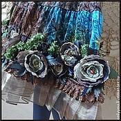 Одежда ручной работы. Ярмарка Мастеров - ручная работа Бархатная юбка «Сон в летнюю ночь». Handmade.