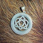 Русский стиль handmade. Livemaster - original item Celtic love knot ( 3cm). Handmade.