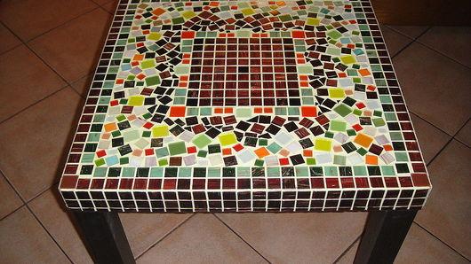 """Мебель ручной работы. Ярмарка Мастеров - ручная работа. Купить Стол  из мозаики """"Мексика"""". Handmade. Мозаика, кофе, авторская работа"""