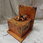 Для дома и интерьера handmade. Livemaster - original item Holder for books and the box My angel -4. Handmade.