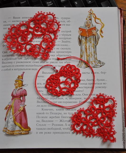 Подарки для влюбленных ручной работы. Ярмарка Мастеров - ручная работа. Купить Кружевные сердечки-валентинки. Handmade. Ярко-красный
