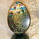 """Яйца ручной работы. Декоративное яйцо """"Вечная любовь"""". Ольга ' Домик для души'. Ярмарка Мастеров. Яйцо деревянное, подарок"""