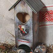 Для дома и интерьера ручной работы. Ярмарка Мастеров - ручная работа Куриный чайный домик (рустик). Handmade.