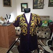 Одежда ручной работы. Ярмарка Мастеров - ручная работа Жилет с элементами валяния. Handmade.