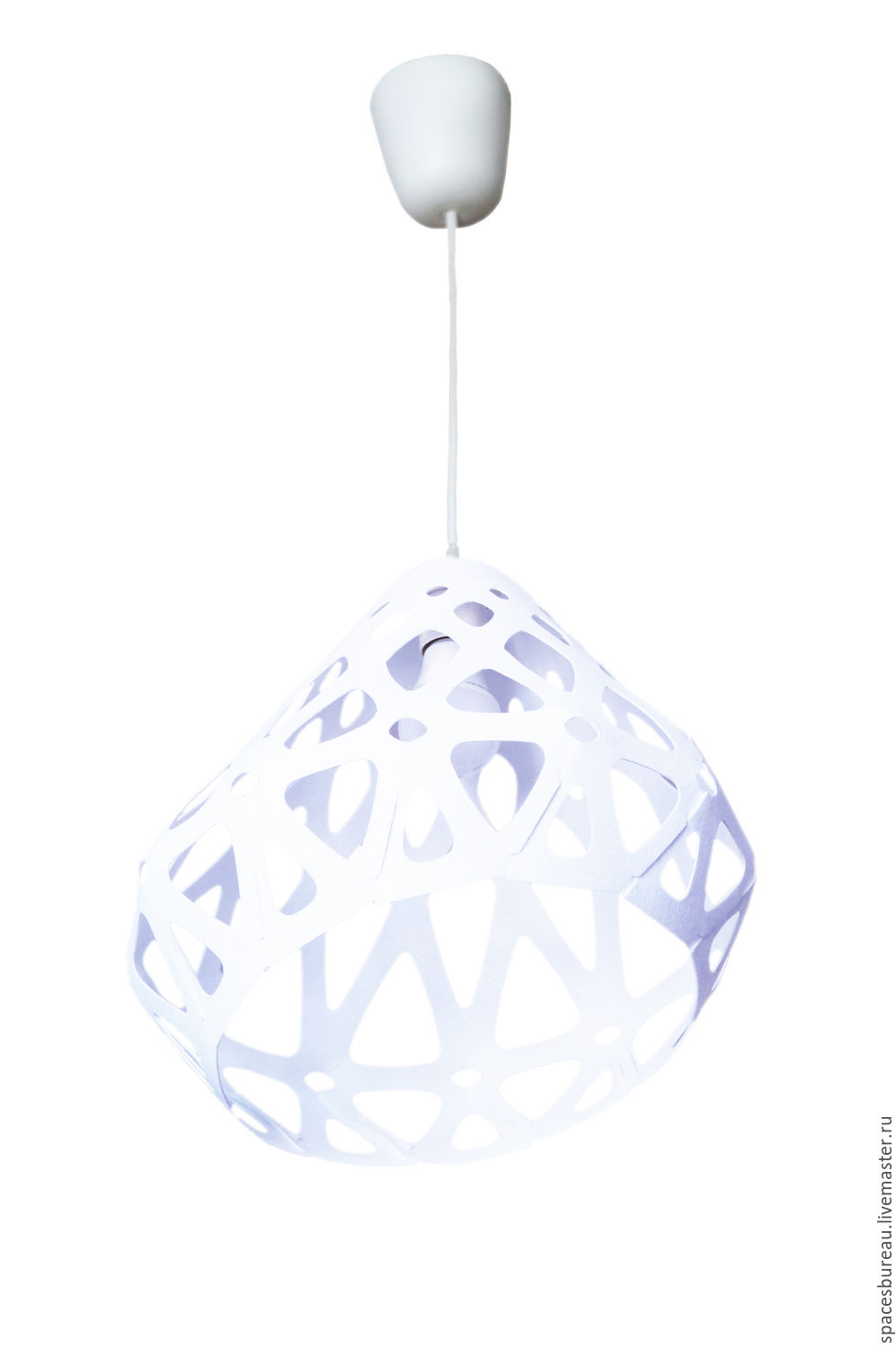 ZAHA LIGHT white ceiling pendant lamp 2, Chandeliers, St. Petersburg,  Фото №1