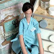 Куклы и игрушки ручной работы. Ярмарка Мастеров - ручная работа Врач - стоматолог. Handmade.