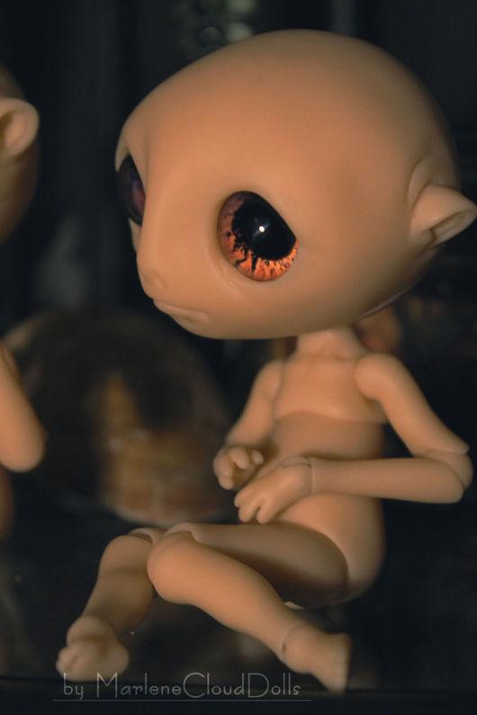 Коллекционные куклы ручной работы. Ярмарка Мастеров - ручная работа. Купить Изгой (кукла-бланк) шарнирная кукла BJD. Handmade.