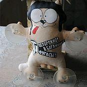 Куклы и пупсы ручной работы. Ярмарка Мастеров - ручная работа Кот Саймона в авто. Handmade.