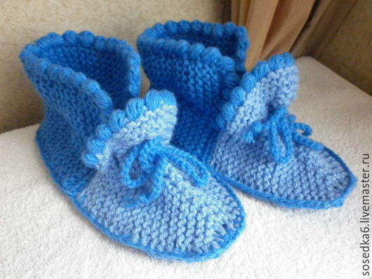 Обувь ручной работы. Ярмарка Мастеров - ручная работа. Купить домашние тапочки - мокасины. Handmade. Голубой, тапочки из шерсти