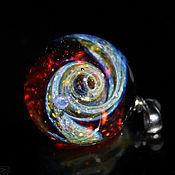 Украшения handmade. Livemaster - original item Pendant ball Cosmos with us. Universe Galaxy planet Jewelry Space. Handmade.