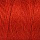 """Другие виды рукоделия ручной работы. Ярмарка Мастеров - ручная работа. Купить Нитки для ткачества """"Хлопко-лён"""" -ржавчина.. Handmade."""