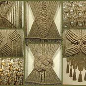 """Картины и панно ручной работы. Ярмарка Мастеров - ручная работа """"Сны художника"""", плетёное панно, лён, макраме. Handmade."""