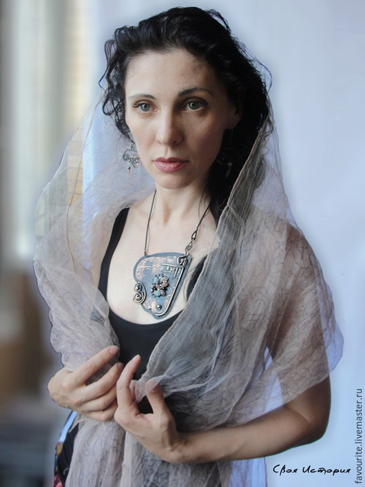 """Колье, бусы ручной работы. Ярмарка Мастеров - ручная работа. Купить Колье трансформер """"Femme Fatale"""" -  Роковая женщина. Handmade."""