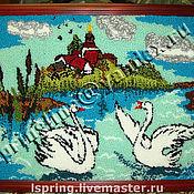 Картины и панно ручной работы. Ярмарка Мастеров - ручная работа Вот моя деревня, вот мой дом родной.... Handmade.