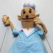 Куклы и пупсы ручной работы. Ярмарка Мастеров - ручная работа Пломбироешка, верховая театральная кукла на заказ. Handmade.