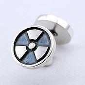 Украшения handmade. Livemaster - original item Pair of Radiation earrings silver 925. Handmade.